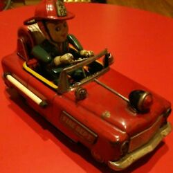 Super Rare Item Vintage Tinplate Toy Truck From Japan F/s