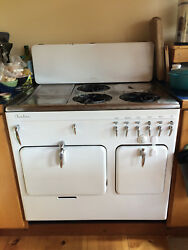 Antique Chambers Gas Stove Model B Great Condition