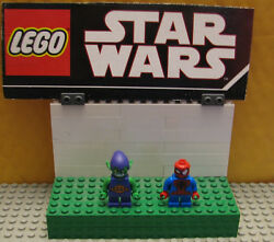 Super Heroes Lego Minifigure Minifig  Green Goblin And Spider Man Micro