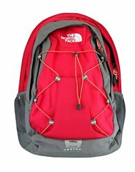 NEW THE NORTH FACE JESTER BACKPACK WOMAN'S ROSE RED LAPTOP SCHOOL BOOK BAG