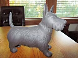 SCOTTISH TERRIER FIGURINE-WEDGEWOOD VINTAGE BLACK -VERY RARE!