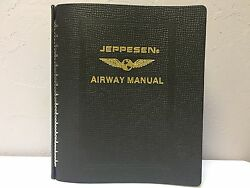 Brand New Jeppesen Premium Leather Binder 2 Lb-2 P/n 621122 Made In The Usa