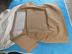 56-60 Corvette Tan Stayfast Convertible Soft Top Pads And Strap Kit