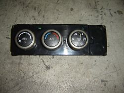 2005 NISSAN TITAN HEATER AC AC CLIMATE  CONTROL TEMP PANEL 27500-ZH11A OEM