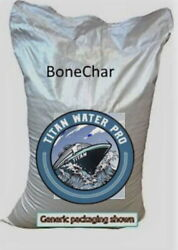 Bone Char Activated Charcoal Carbon - Kosher - 55 Lbs - Fluoride Reduction