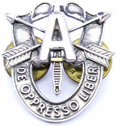 Special Forces Alpha Team Crest Di Pin Us Army Sfg Airborne Sof Insignia