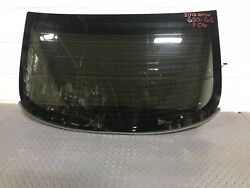 12-16 BMW 650i GRAN COUPE F06 REAR BACK WINDOW CLOSED GLASS PRIVACY FACTORY OEM