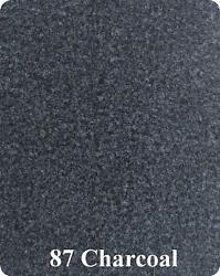 16 Oz Cutpile Marine Outdoor Bass Boat Carpet 1st Quality 6and039 X20and039 Charcoal