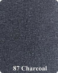 20 Oz Cutpile Marine Outdoor Bass Boat Carpet 1st Quality 8.5and039 X 24and039 Charcoal