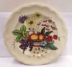 Spode China Reynolds 13 Chop Plate Brown Back Stamp Good More Items Available