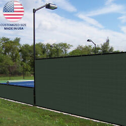 Customize 4ft Green Vinyl Coated Fence 100 Privacy Commercial Garden Screen