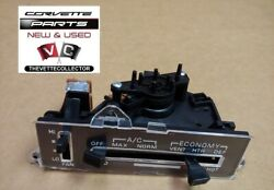 Corvette 77-78 AC Heater Control Assembly Unit Climate 1977 1978 NEW Complete