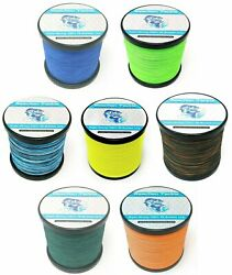 Reaction Tackle Braided Fishing Line Various Sizes and Colors $18.99