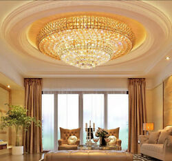 European Court Style Led K9 Crystal Ceiling Lamps Chandeliers Lighting Fixture