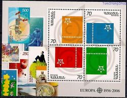 Armenia 2006 First Stamps Europa Circus/clown Art Stamp-on-stamp M/s Mnh