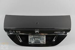 06-11 Mercedes W219 CLS500 CLS550 CLS63 AMG Trunk Cover Lid Shell Black OEM #3