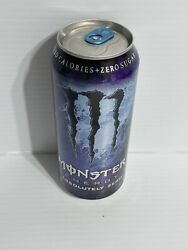 Monster Energy Drink Absolutely Zero Old Rare Can. Sku 0213