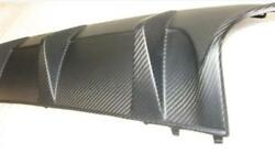 For Mercedes W204 C63 Amg Facelift Real Carbon Matte Rear Diffuser