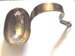 1950and039s F. Ramirez Sterling Mexican Modernist Ladle Shop Studio Torno