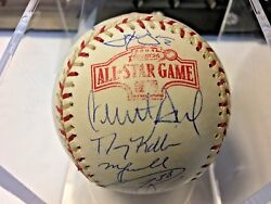 2004 Mlb All-star Game Nl Team Autographed Baseball Jsa Certified 29 Signatures