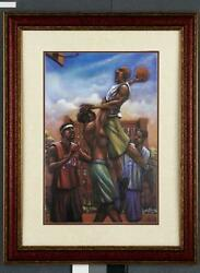 African American Black Art Print quot;U CAN#x27;#x27;T STOP MEquot; by Lonnie Ollivierre