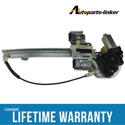 Window Regulator WMotor Rear Right Fit Buick Lesabre Sedan 4-Door 05-00 741-812