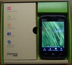 Pantech P6030 Renue AT&T Camera Bluetooth QWERTY Speakerphone - Good Condition