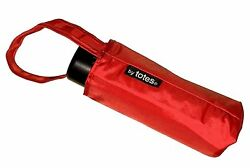 Totes 6.7-Ounce Micro Mini Umbrella with 33-inch Coverage Red 1-pack