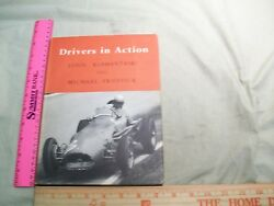 1955 Auto Racing Drivers In Action England English Book motor racing