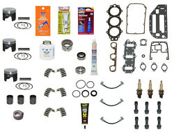 Rebuild Kit Pistons Evinrude Johnson Std. .020 .030 60 65 70 Late And03986-and03901