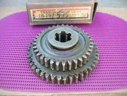 1931-1941 Chevrolet Truck 4 Speed Transmission Nors 1st 2nd Reverse Sliding Gear