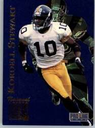 1996 Pro Line Football National Laser Promo Singles Pick Your Cards