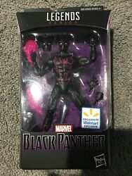 MARVEL LEGENDS BLACK PANTHER MOVIE ACTION FIGURE WALMART EXCLUSIVE NEW IN HAND