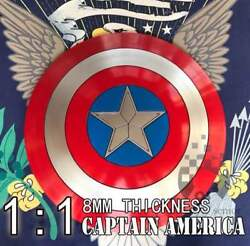 Super Rare Item Captain America Shield Metal Made From Japan Free Shipping