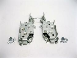 1965 1966 Chevy Impala Coupe Door Latch Lock Mechanism Assembly Pair