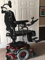 Electric Power Wheelchair. Loaded With Features. Comes With Battery Charger.
