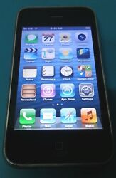Apple Iphone 3gs 16gb Black A1303 Atandt Unlocked, Bad Mute Switch, Good Condition