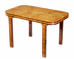 LATER DECO SWEDISH ELM ROOT COFFEE TABLE