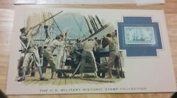 THE U.S. MILITARY HISTORIC STAMP COLLECTION 1797 FRIGATE CONSTITUTION WOW!