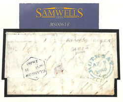 MS618 1850 GB SCOTS LOCALS Glasgow Green *ARGYLE STREET* Cover Rothsay Bute
