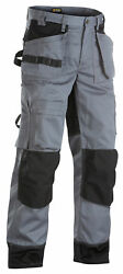 Blaklader Cordura Knee Pad Work Trousers With Nail Pockets Polycotton - 1504