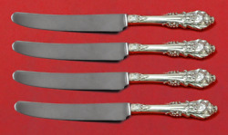Sir Christopher By Wallace Sterling Silver Fruit Knife Set 4pc Custom 7 Hhws