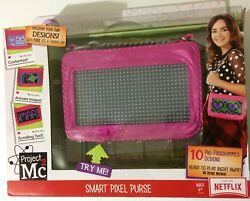 Project Mc2 Smart Pixel Purse Toy Led Light, Ios And Android -girls Handbag Gift