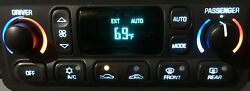 98-04 C5 Corvette Digital Heater AC Climate Control LED Upgraded No CORE needed