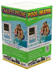 Enersol 1and039x10and039 Above Ground In-ground Swimming Pool Solar Heater Choose Size