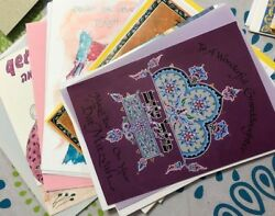 Lot Of Greeting Cards Jewish Assorted Regular Size +/- 125 Cards/unit