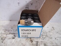 Lot Of 12 Monarch Oil Burner Nozzles 1.00 X 30r Solid Cone New Nos Fuel Furnace