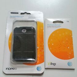 AT&T Incipio Eco Shell Gel Case W'Free Screen Protector for Pantech Renue P6030