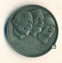 Apollo 11 The First Men on the Moon on 20th July 1969 Medal Approx-34gm.(OOAK)