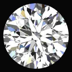 CERTIFIED Round Fancy White-FG Color SI 100% Loose Natural Diamond Wholesale Lo